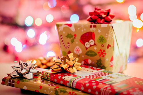 christmas gifts wallpaper